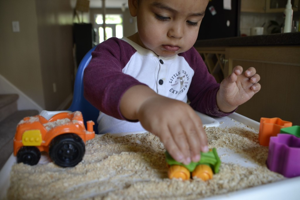 Goopy Gunk…Edible Sand… and More Home-made Sensory Fun
